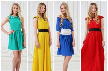 Мода лето 2014: в тренде - романтика и яркие цвета (фото)