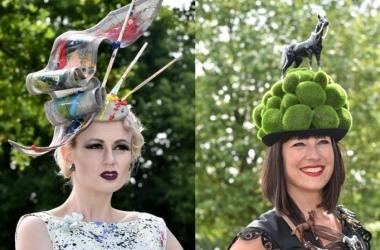 День Леди: самые фантастические шляпки британок (фото)