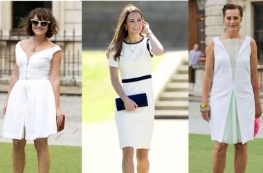Как модно носить маленькое белое платье этим летом (фото)
