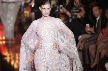 Высокая мода 2014: Elie Saab показал самые модные вечерние платья (фото)