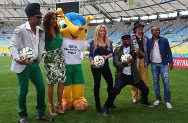 Финал Чемпионата мира 2014: Шакира сплясала сумасшедший танец (фото)