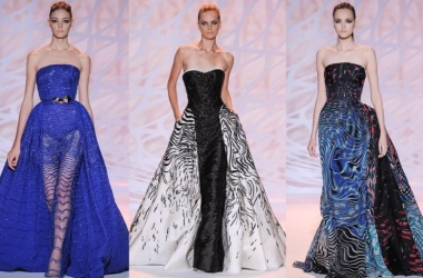 Какие платья будут в моде осенью 2014: показ Zuhair Murad (фото)