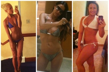 Селфи в бикини: самые пикантные фото звезд в бикини из соцсетей (фото)