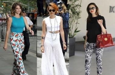 Мода лето 2014: как стильно носить летние брюки (фото)