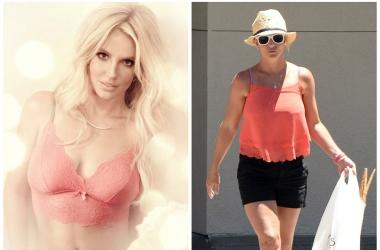 Модный провал: Бритни Спирс засветила ужасное декольте (фото)