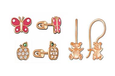 Легкие, миниатюрные и удобные -  украшения детской тематики от ЮЗ