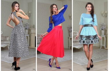 Мода осень 2014: быть на высоте помогут яркие цвета и абстрактные принты
