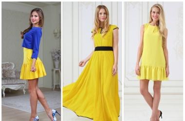 Желтый цвет в одежде: все особенности и его влияние на нашу жизнь
