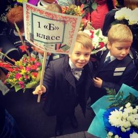 1 сентября: дети звезд на первом звонке в школе (фото)