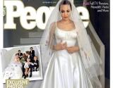 Анджелина Джоли впервые показала свадебное платье (фото)