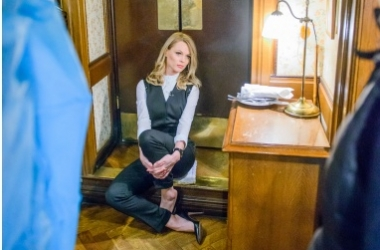 Скандальная Ольга Фреймут попала за решетку в Париже (фото)