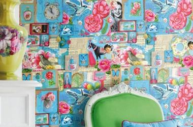 Стильный дизайн квартиры: выбираем яркие обои для стен