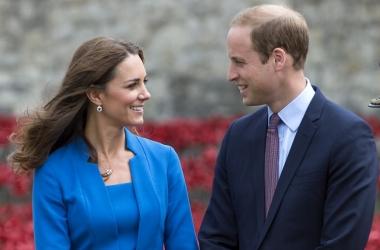 Беременная Кейт Миддлтон и принц Уильям впервые увидели своего будущего ребенка