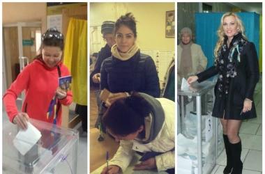 Выборы в Верховную Раду 2014: как голосовали украинские звезды