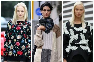 Модный свитер 2014: как сделать трендовую вещь своими руками
