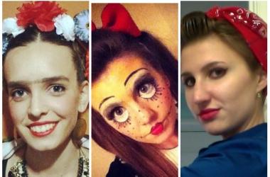 Костюм и макияж на Хэллоуин на скорую руку: 30 креативных идей