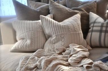 Уютные подушки: 7 дизайнерских идей (фото)