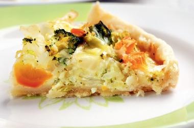 Рецепт пирога с овощами: вкусная домашняя выпечка из бездрожжевого теста
