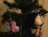 Новогодняя елка в стиле минимализм (видео)