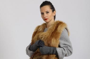 Мода зима 2014-2015: как носить осеннее пальто с жилетом зимой (фото)