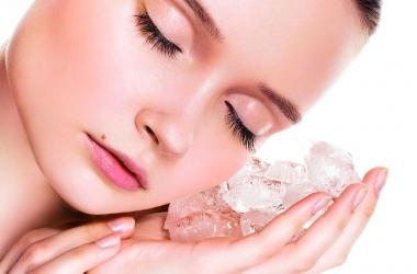 Косметический лед против морщин: как использовать