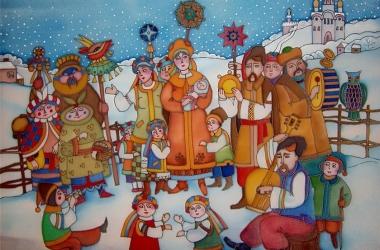 Самые лучшие короткие щедривки на украинском языке для взрослых и детей