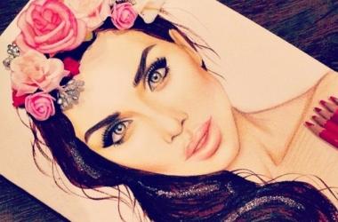 Анна Седокова: новый макияж и  прическа (фото)