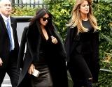 Ким Кардашьян и Хлои Кардашьян соперничают в черных нарядах: кто красивее? (фото) (видео)