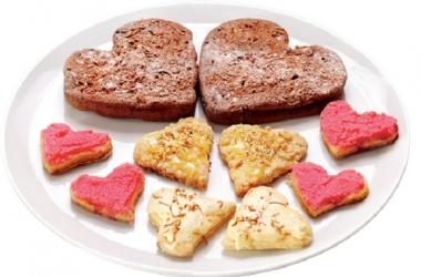 Оригинальные подарки на 14 февраля: печенье валентинка своими руками