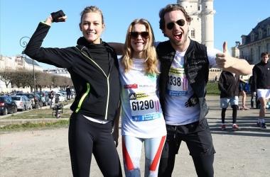 Наталья Водянова пробежала марафон с сыном: потрясающие фото