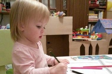 Варвара да Винчи, или как научить ребенка рисовать и правильно держать карандаш - в
