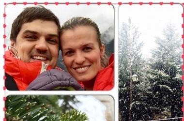 Константин Евтушенко с женой и 3-месячным сыном улетели в отпуск
