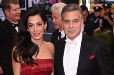 Джордж Клуни отметил годовщину свадьбы