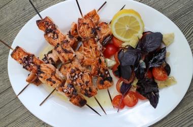 Блюдо для пикника: Кебаб из норвежской семги. Мастер-класс от шеф-повара