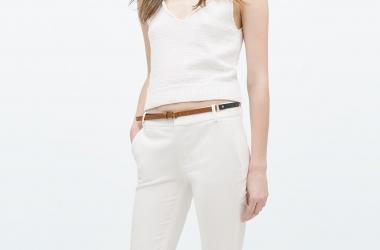 Мода-2015: с чем носить белые брюки (фото)