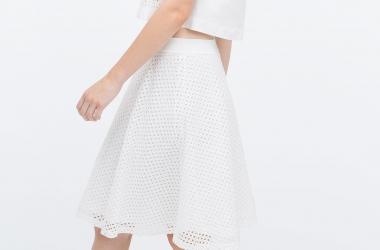 Белая юбка: с чем ее носить этим летом (фото)