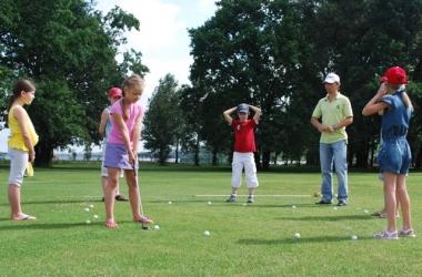 Летние каникулы в гольф-клубе!