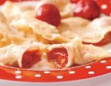 Вкусненькие вареники с клубникой: простой рецепт на кефире