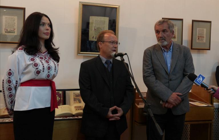 Влада Литовченко привезла копии аутентичных изданий в Тернополь - Фото