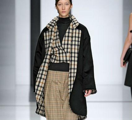 пальто в стиле кантри