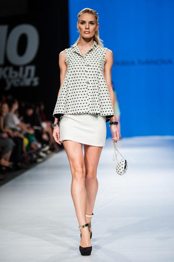 Анастасия Иванова показ мода весна лето 2015