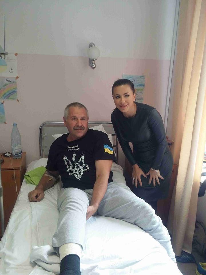 Ани Лорак военные АТО помощь фото
