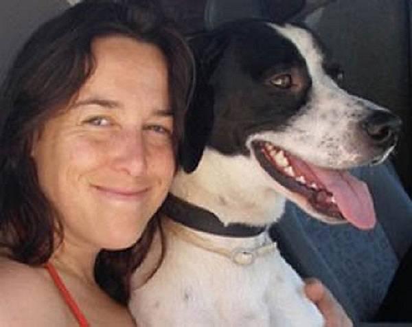 Женщина замужем за собакой
