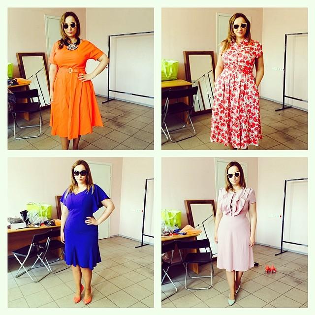 Анфиса Чехова мода весна лето 2014