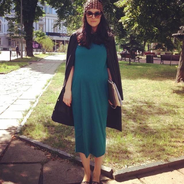 Фото беременной ефросининой