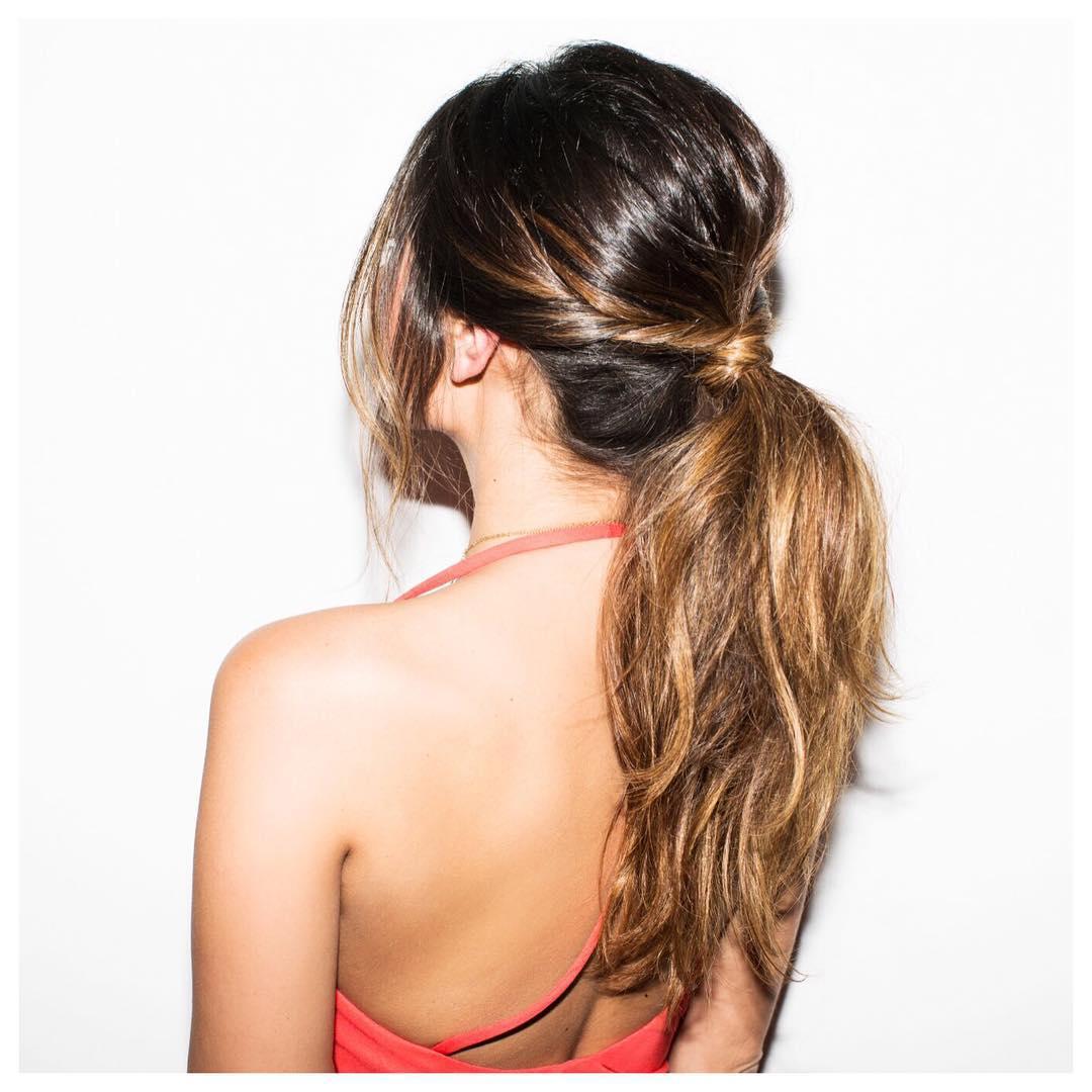 модные прически на длинные волосы 2015