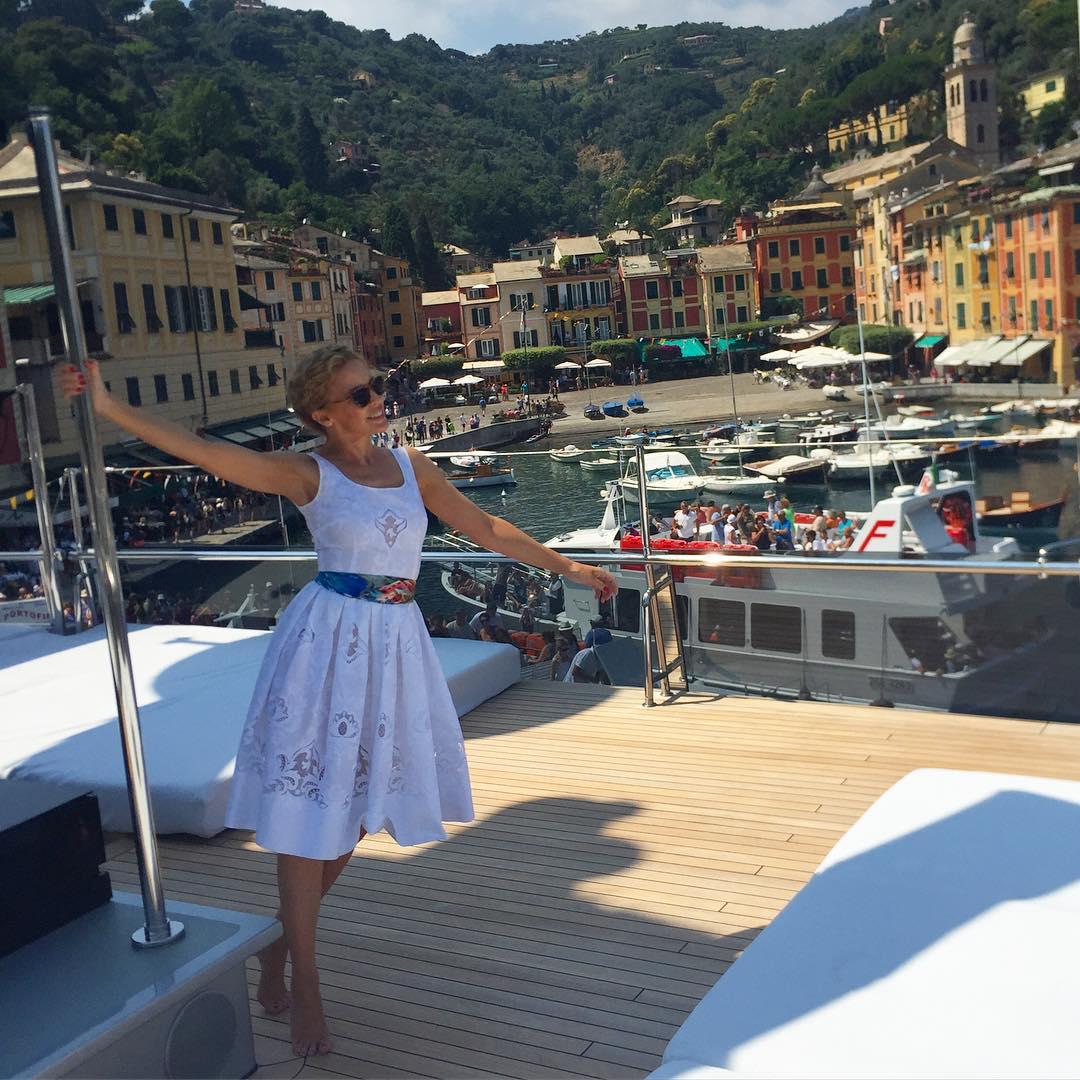 Кайли Миноуг в Италии