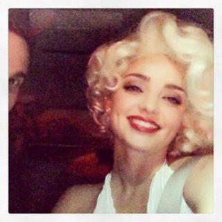 Хэллоуин 2015: Миранда Керр примерила образ Мэрилин Монро