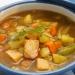 Суп с норвежской семгой, овощами и карри рецепт Рождественский пост постное меню по дням на неделю