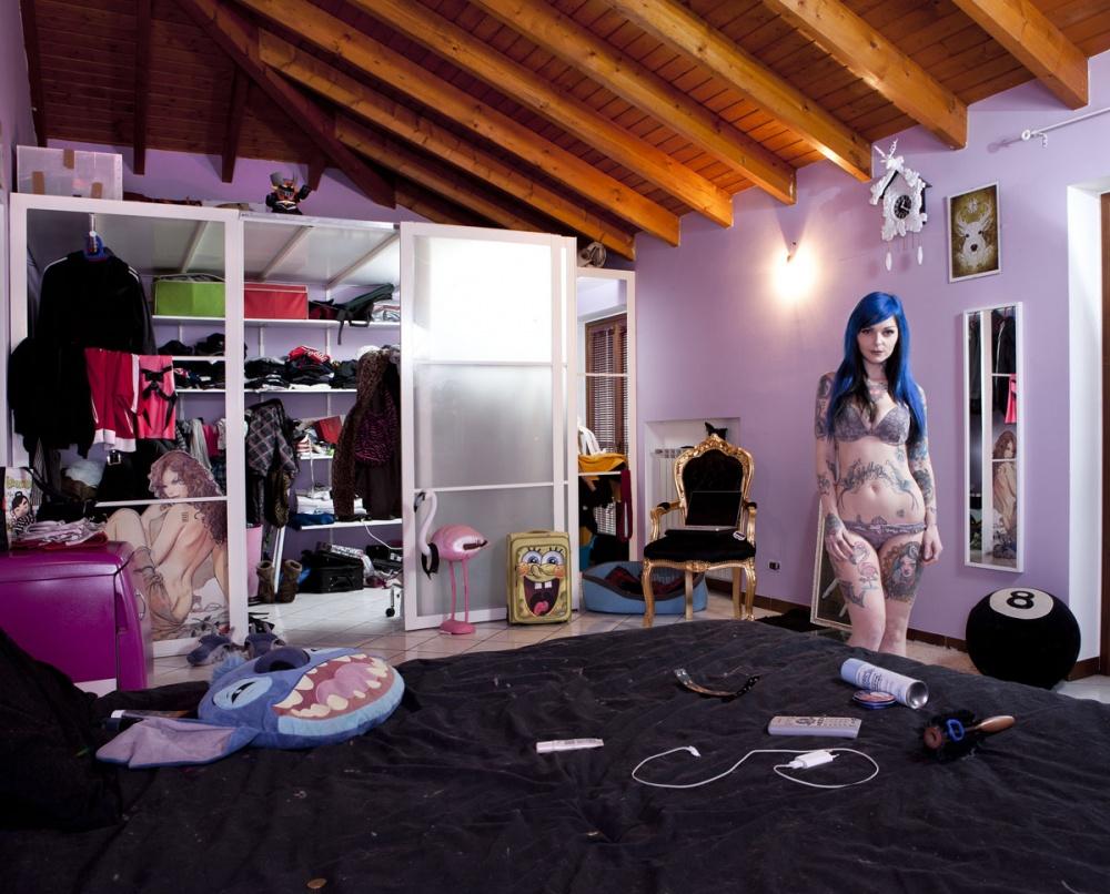 Зеркала и окна_женские спальни